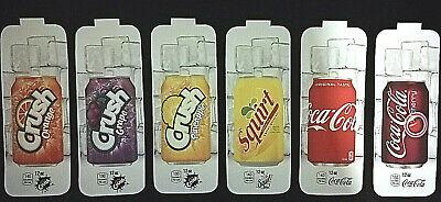 Royal Vendors Chameleon CUSTOM 12 oz Can Vend Labels 6 Flavor Strips