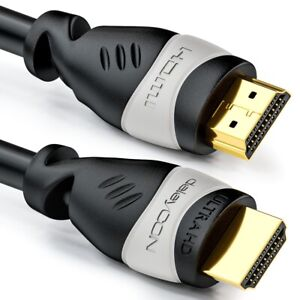 deleyCON 15m HDMI Kabel 4K 30Hz UHD 2160p 3D FULL HD 1080p ARC HDMI2.0 TV Beamer