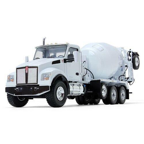 First Gear 4145 Kenworth T880S Concrete Mixer McNeilus - bianca 1 34 MIB