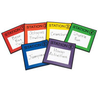 Station Markers Set Of 6 on sale