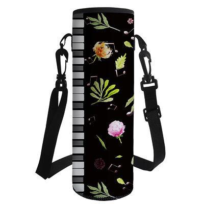 Water Bottle Bag for Teacher School Neoprene Thermal Kettle Sleeve Pouch Holder