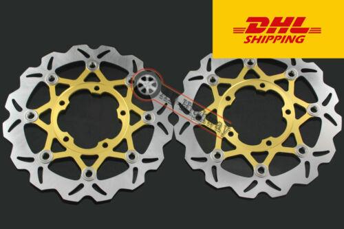 Front  Brake Disc Rotor For Suzuki GSXR600 750 2006-2007 GSXR1000 2005-2008 More