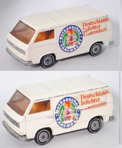 Siku Super 1331 VW Transporter Typ 2-T3 Rotkäppchen CAMEMBERT Sondermodell