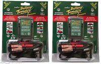 2 Pack Deltran Battery Tender Jr. 12v Maintainer Charger Tender Junior 021-0123