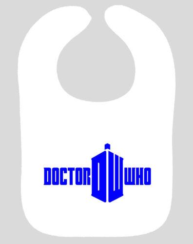 Doctor Who Bib cybermen Daleks DR WHO TARDIS asst couleurs BABY BIB NEW
