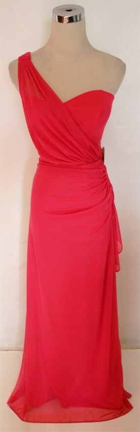 Nwt Blondie Nites Rio Wassermelone Formelles Kleid 5