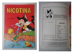 Nicotina-numero-1-Lire-200-Giugno-1974-Edizioni-Metro