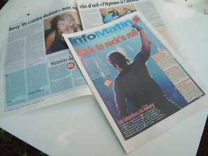 """1995 Programme journal """"Document"""", JOHNNY HALLYDAY, concert Paris Bercy 1995 - France - Programme / journal de concert de Johnny Hallyday, distribué au concert de Paris - Bercy 1995. Se compose de 16 pages, état neuf.J'avais pu en avoir plusieurs sur place lors de ce concert. Plusieurs exemplaires disponibles. Envoi avec n suivi p - France"""