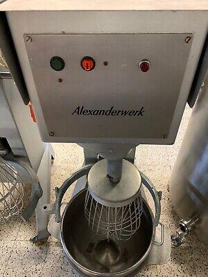Alexanderwerk 60l Rührmaschine, planetenrührwerk, Rührwerk, Teigmaschine Rohstoffe Sind Ohne EinschräNkung VerfüGbar