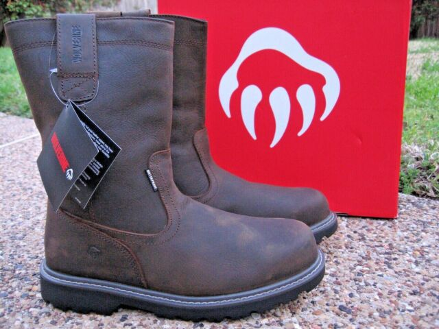 Steel Toe Work Dark Brown Size 9.5 2k