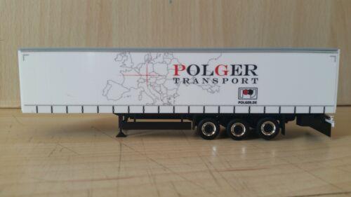 """Eigenbau//Umbau Gardinenplanen-Auflieger /""""POLGER Transport/"""""""
