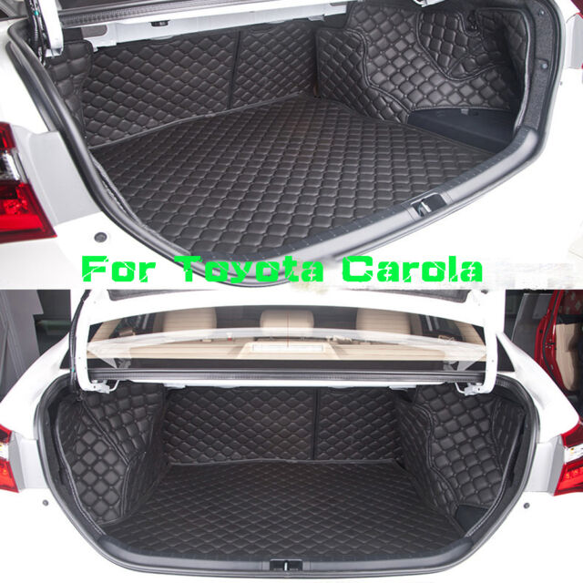 Cargo Trunk Boot Liner Carpet Cover Mat For Toyota Carolla 2014-2016 Waterproof