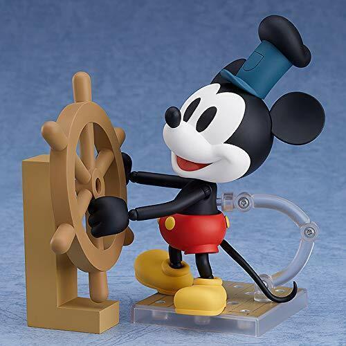 Nendoroid 1010b Steamboat Willie Mickey Mouse Figura Color 1928 Versión