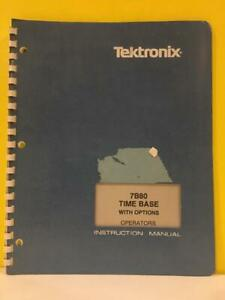 Tektronix-070-1958-00-7B80-Time-Base-With-Options-Operators-Instruction-Manual