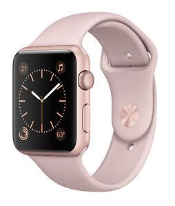Apple Watch Series 2 42mm Rose Gold Aluminum Case Ebay