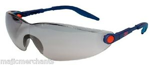 Image is loading 3M-2741-Comfort-Line-Grey-Sunglasses-Safety-Glasses-