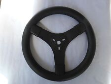 "NEW 12""/300mm dia. GO KART STEERING WHEEL. THICK GRIP FOR COMFORT UNIV. FITTING"