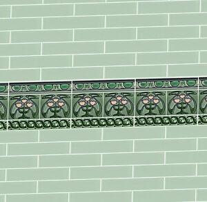 Dolls-House-Victorian-Wallpaper-Green-Kitchen-Bathroom-Quality-Satin-Paper-27