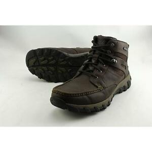 1f1e0978cde4 Men s Rockport Cold Springs Plus MOC Toe High Boot 9 M Chocolate ...