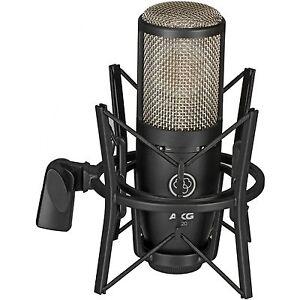 akg perception p 220 studio condenser microphone mic w shockmount case new 885038037057 ebay. Black Bedroom Furniture Sets. Home Design Ideas