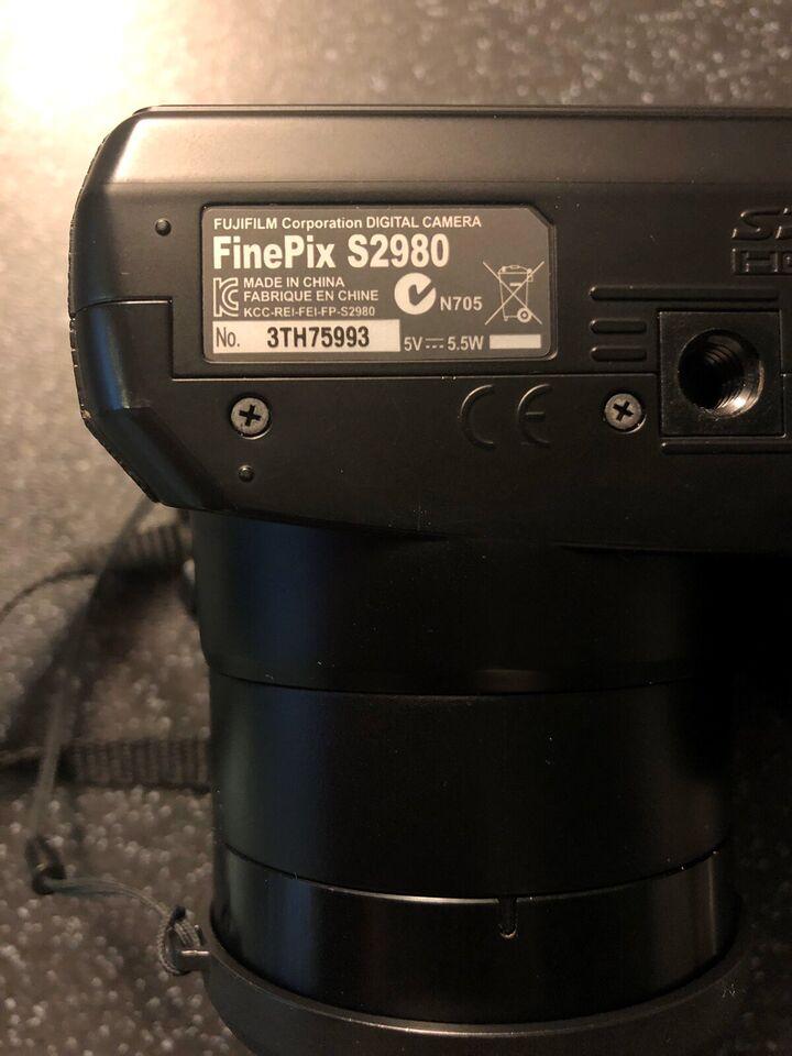Fujifilm, S2980, 18x x optisk zoom