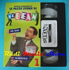 VHS film cartonata MR.BEAN 1 Rowan Atkinson 1998 COMICO FABBRI (F95)no dvd *