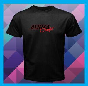 Alumacraft-Boats-Logo-Fishing-NEW-Men-039-s-Black-T-Shirt-S-M-L-XL-2XL-3XL