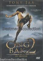 Ong Bak 2 The Beginning / Ong Bak 2 El Inicio Dvd Con Tony Jaa Sealed