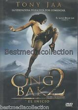 Ong Bak 2 The Beginning / Ong Bak 2 El Inicio DVD NEW Con Tony Jaa SEALED