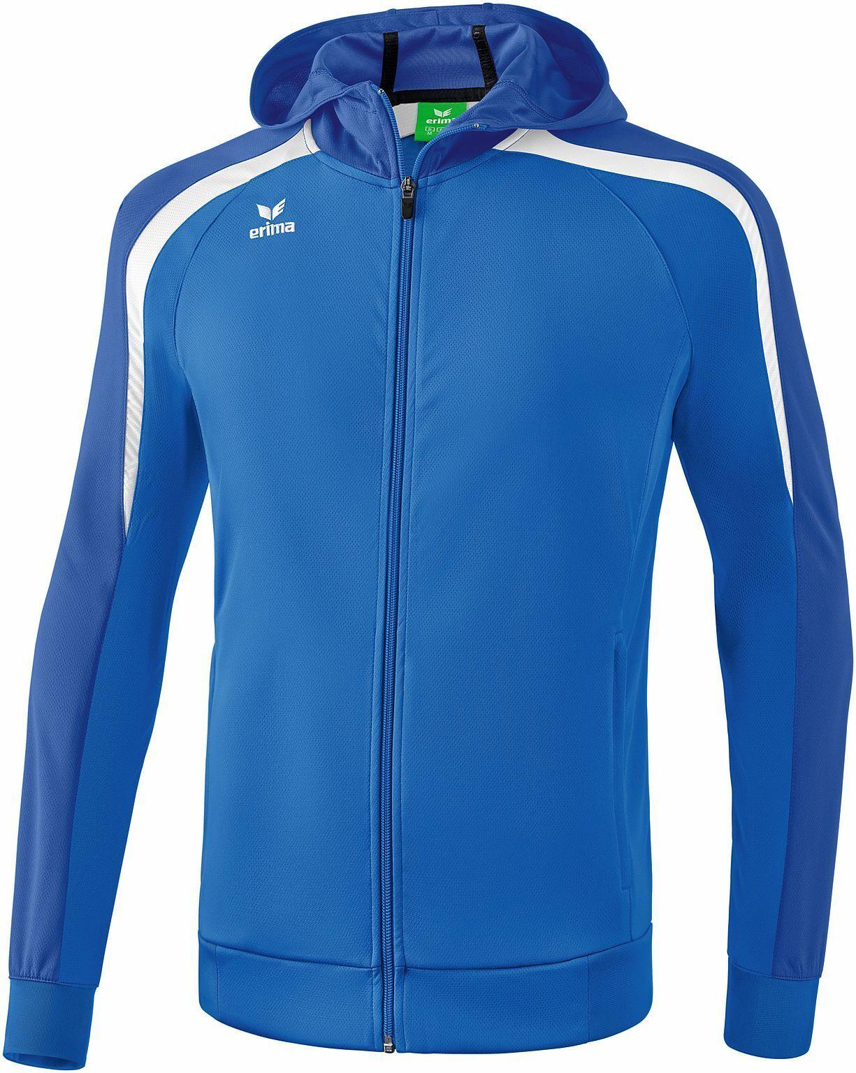 Erima Ligue Ligue Erima 2.0 Veste de survêtement à capuche blanc bleu  Hommes sport NEUF db6d20 83fb65cf791