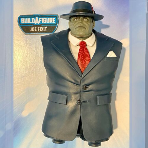 JOE FIXIT BAF Head Torso Chest Body Marvel Legends Mr Hulk Gamerverse SHIPS FAST