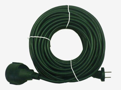 Verlängerungskabel  Stromkabel  Verlängerungsleitung H05VV-F 20 m CE grün K