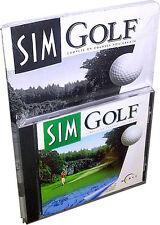 Maxis Sim Golf for (PC, 1996) Retail .... !! Rare!! New!!