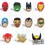 MARVEL-DC-SUPERHELDEN-Schuh-Pins-Crocs-Batman-Spider-Man-Clogs-Disney-jibbitz Indexbild 24