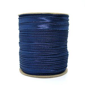 10mm Haute Qualité Bleu Marine Bordure Garnitures Ruban Passepoil Garniture Boiteux Couture K227-afficher Le Titre D'origine Avoir à La Fois La Qualité De TéNacité Et De Dureté