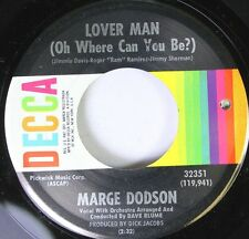 Hear! Northern Soul 45 Marge Dodson - Lover Man (Oh Where Can You Be?)