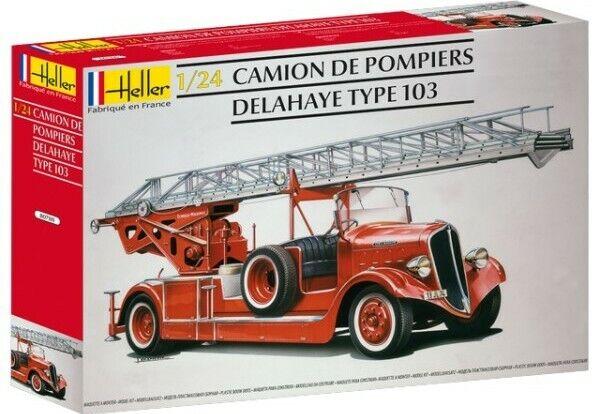 Heller 1 24 Delahaye Type 103 Fire Engine