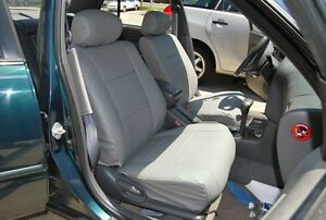 toyota camry 2002 2006 leather like custom seat cover ebay. Black Bedroom Furniture Sets. Home Design Ideas