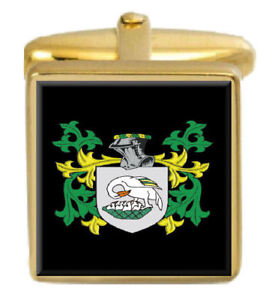 Barnett England Familie Wappen Familienname Gold Manschettenknöpfe Graviert Duftendes (In) Aroma