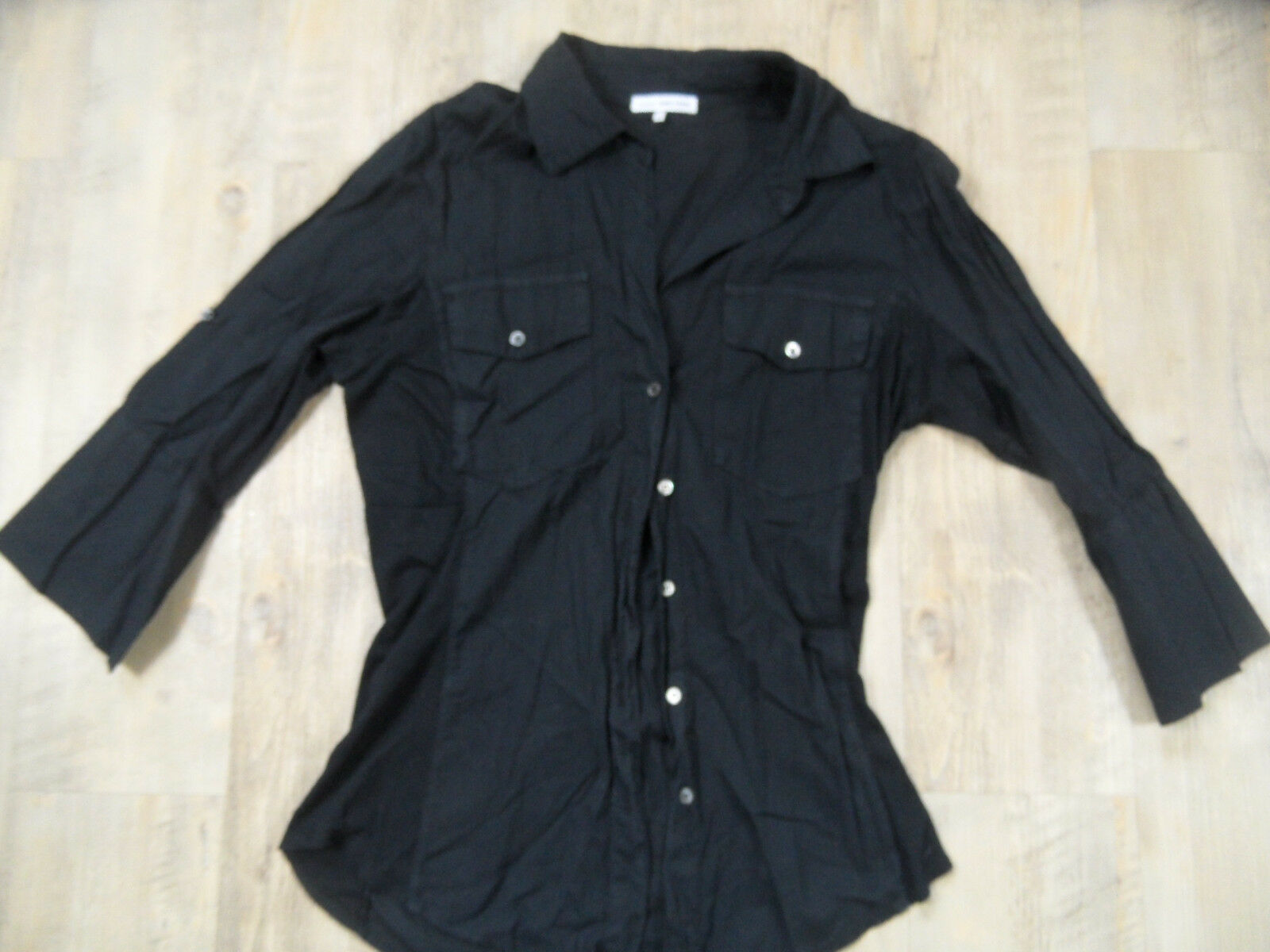 74f99dfc9dcb James Perse bella camicia 2 Top kos418 tg leggera nnomcc2352-T-shirt ...