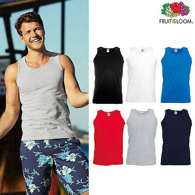 Men/'s Acive//SportsGym Sleeveless Tank Top Fruit of the Loom Performance Vest