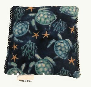 Sea-Turtles-Teal-Pack-Hot-Cold-You-Pick-A-Scent-Microwave-Heating-Pad-Reusable