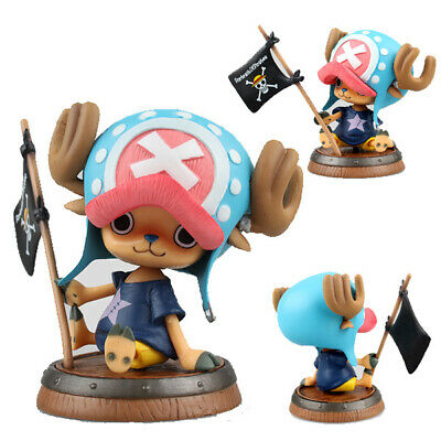 Collections Anime Jouets One Piece Tony Tony Chopper Blue Figurine Statues 10cm