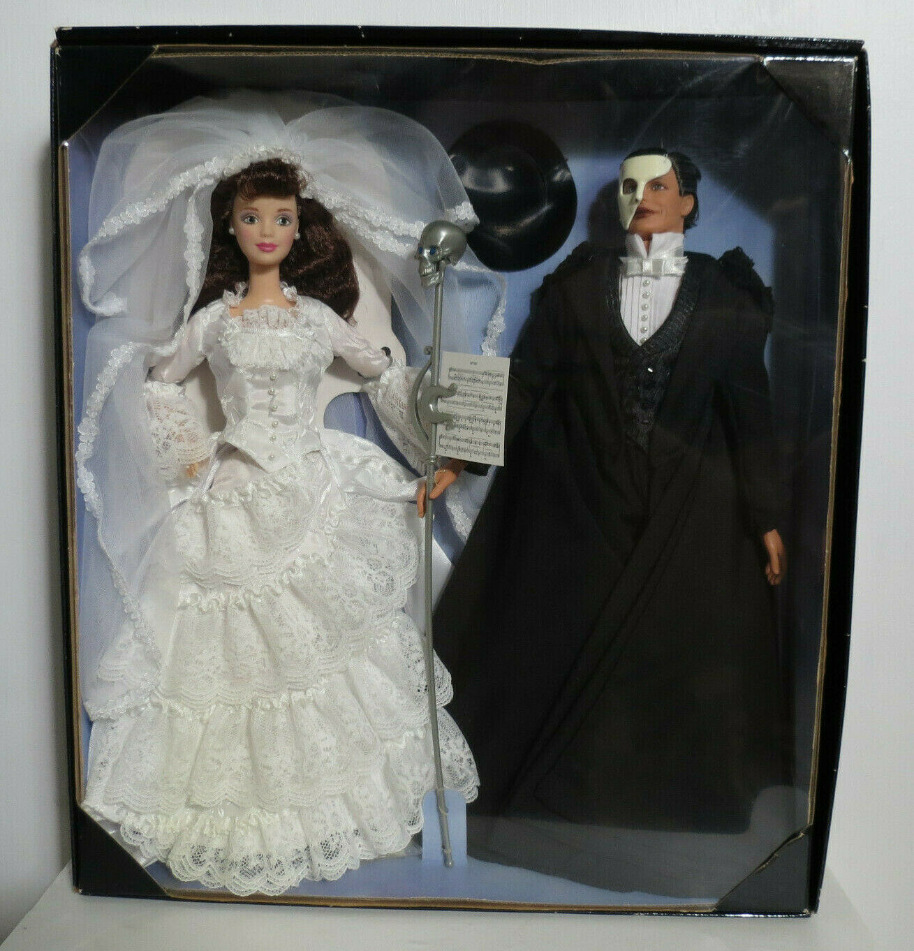 Barbie Y Ken el fantasma de la ópera FAO Schwartz No.20377 Nuevo en caja nunca quitado de la caja de edición limitada.