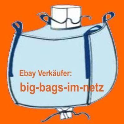 * 2 Stück Big Bag 120 Cm Hoch - 93 X 93 Cm Bags Bigbags Säcke Container 1000 Kg FüR Schnellen Versand