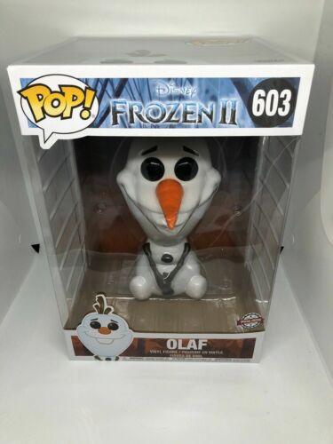 édition spéciale 603 environ 25.40 cm Funko Pop-Disney-Frozen II 2-Olaf 10 in