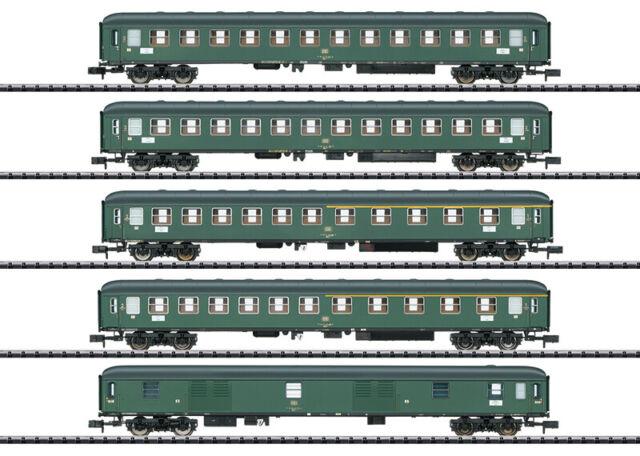 """Minitrix N 15219 Schnellzugwagen-Set """"D 360"""" Neuware"""