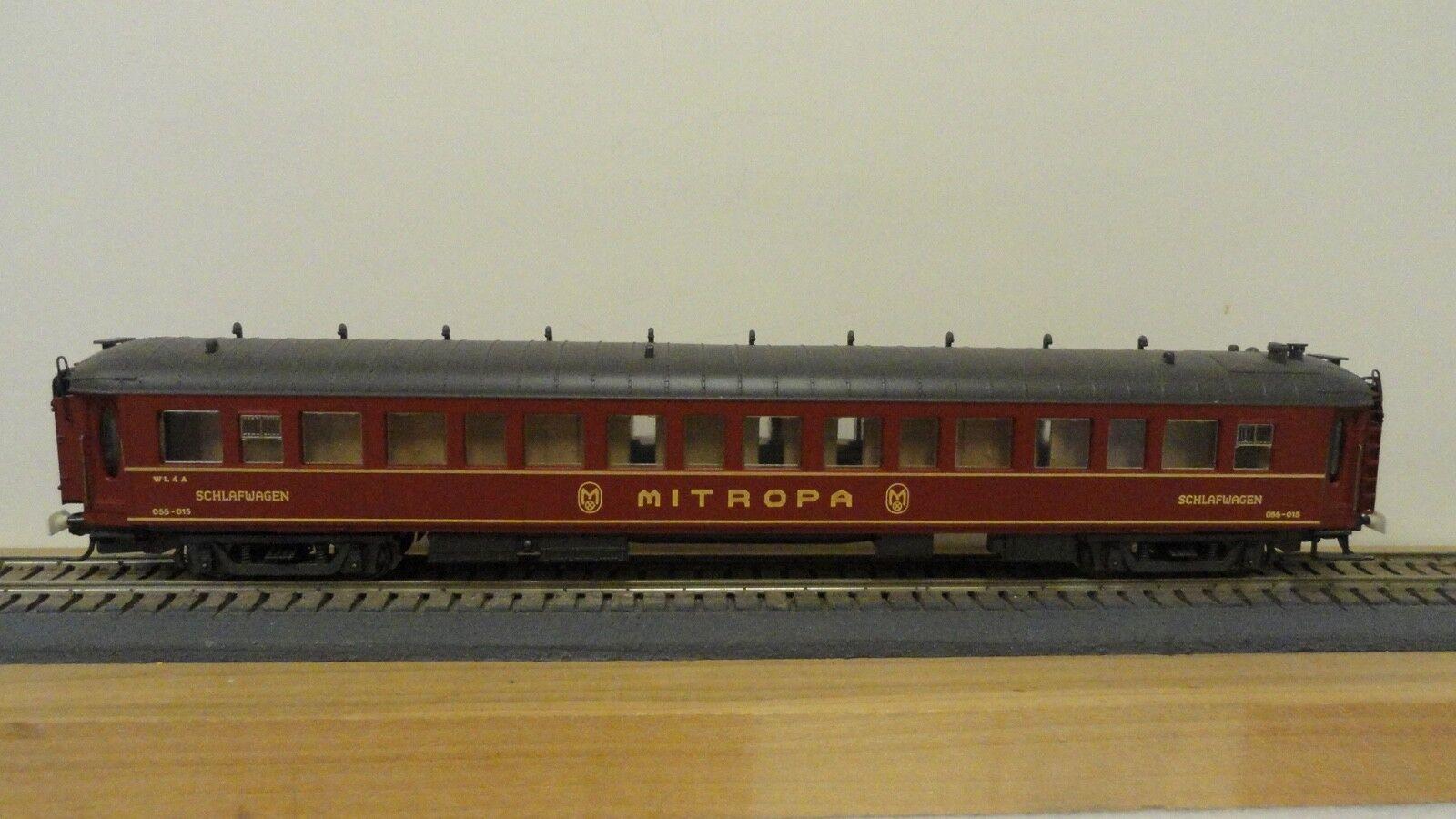 Rivarossi HO J766 Mitropa Durmiente Coche Nr.055-015. Nob.