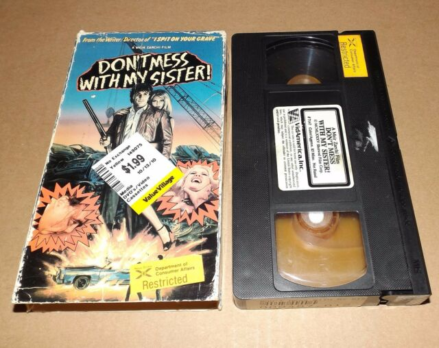 Dont Mess with My Sister (VHS, 1990) VidAmerica