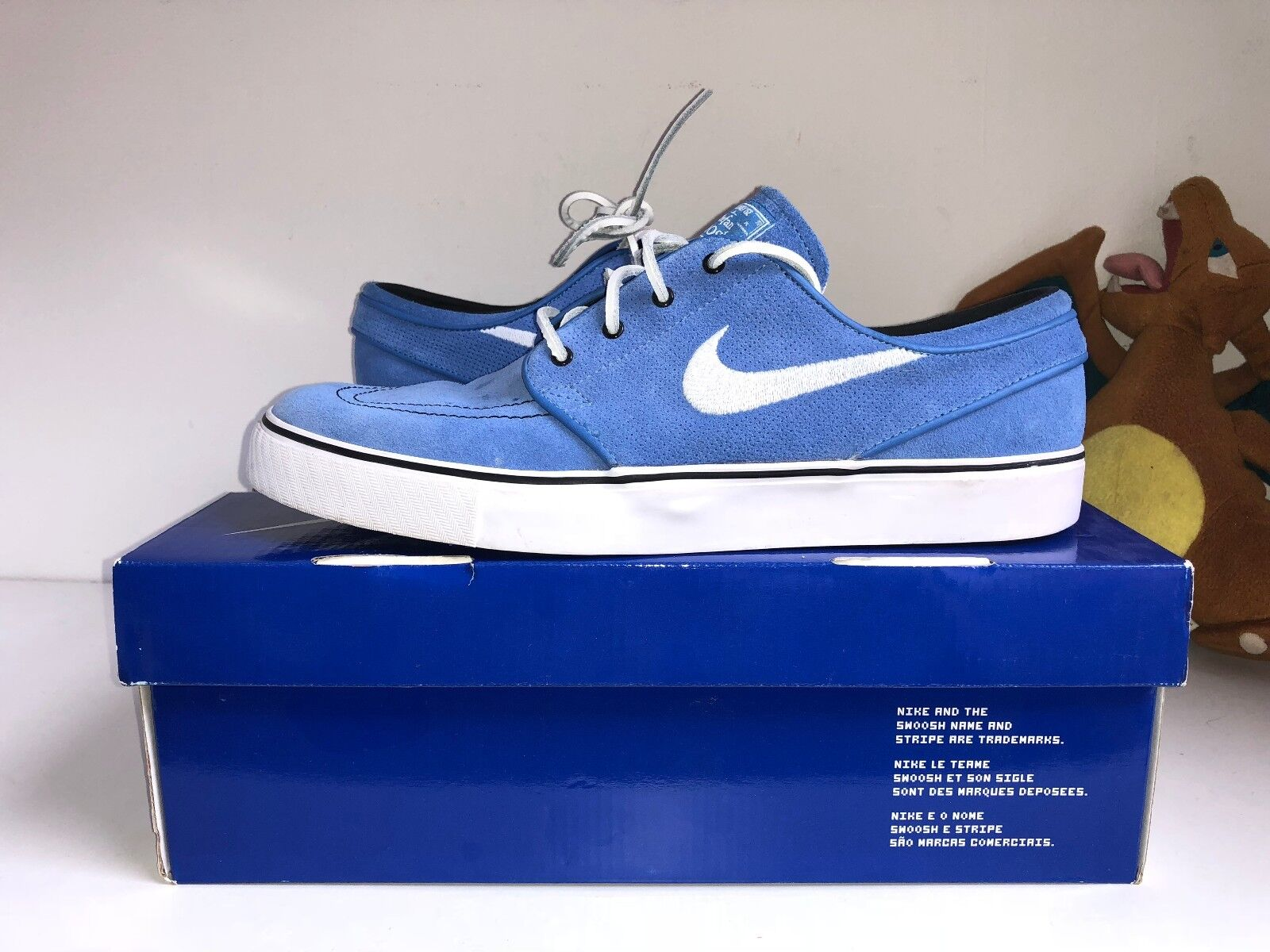 Nike Stefan Janoski Janoski Stefan Trainers Pacific bleu US US bleu 10 9 9567ce
